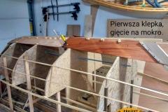 Blekingseka drewniana łódź sklejkowa 3