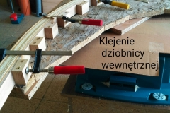 Blekingseka drewniana łódź sklejkowa 1