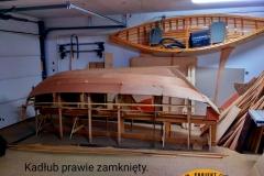 Blekingseka drewniana łódź sklejkowa 9