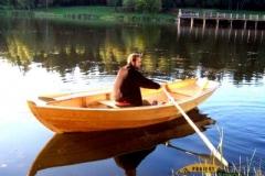 Drewniana łódka sklejkowa Blekingseka 5
