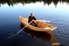 Drewniana łódka sklejkowa Blekingseka 6