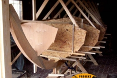 Drewniana łódka sklejkowa Blekingseka 2