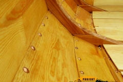 Drewniana łódka sklejkowa Blekingseka 3