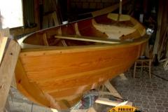 Drewniana łódka sklejkowa Blekingseka 4