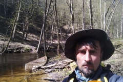 SOF kanu canoe drewniane 17