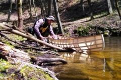 SOF kanu canoe drewniane 20