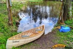 SOF kanu canoe drewniane 24