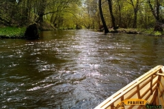 SOF kanu canoe drewniane 28
