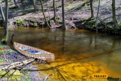 SOF kanu canoe drewniane 15