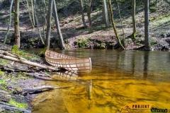 SOF kanu canoe drewniane 16