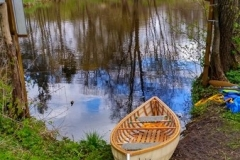 SOF kanu canoe drewniane 25